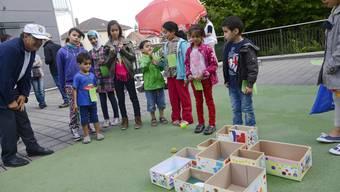 Spiel und Spass am Sonbre-Fest Grenchen