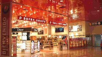 Duty-free-Shop von Dufry. (Archivbild)