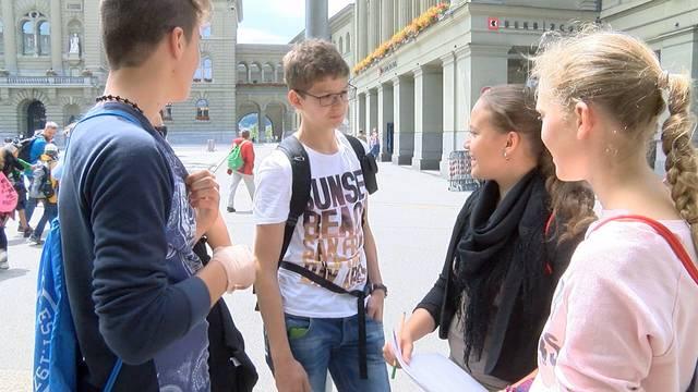 Zuwanderung beschäftigt die Schweizer Jugendlichen: Michelle Beyeler, Co-Projektleiterin der nationalen Befragung, mit Erklärungen.