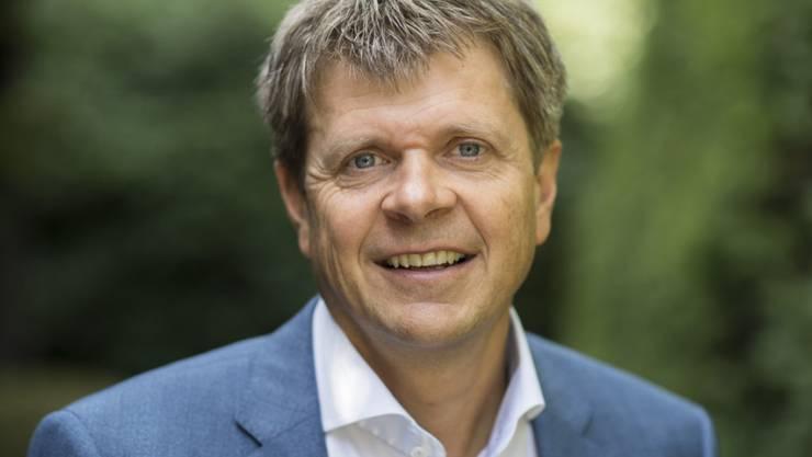 Er folgt auf Martin Bäumle: Der neue GLP-Präsident Jürg Grossen, hier an der Delegiertenversammlung der Grünliberalen in Rüschlikon.
