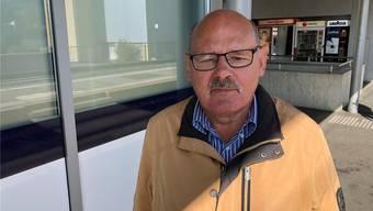 Peter Stenz (75), pensioniert, Zetzwil.