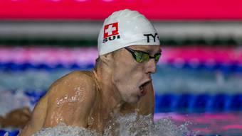 Lagen-Spezialist Jérémy Desplanches schwamm in Glasgow souverän zur EM-Goldmedaille.