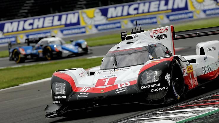Neel Jani steuert mit seinen Teamkollegen zwar den Porsche mit der Startnummer 1, darf aber nach dem Ausfall in Le Mans wegen der internen Stallorder nicht mehr auf Sieg fahren