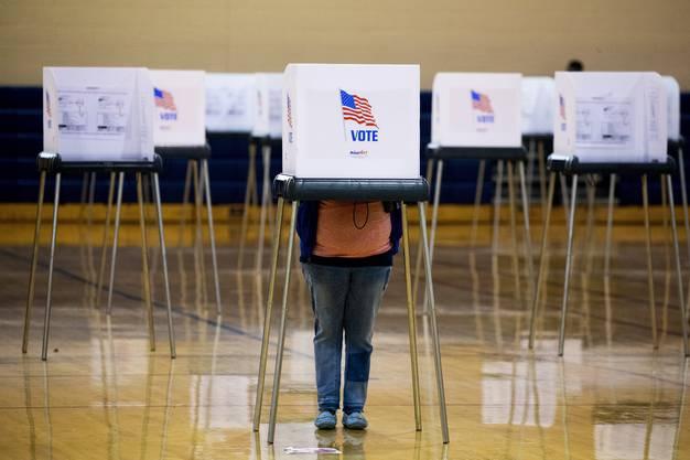 95 Millionen Amerikaner haben schon gewählt. Das ist Rekord.