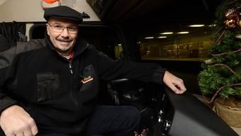 Markus Bont ist an Weihnachten vor allem auf Schweizer Autobahnen unterwegs.