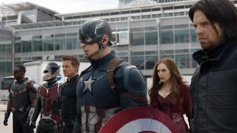 """""""Captain America"""" kann Disney nicht vor Kurseinbussen bei der Aktie bewahren: Trotz des Kinohits sanken die Erlöse des US-Unterhaltungsriesen."""
