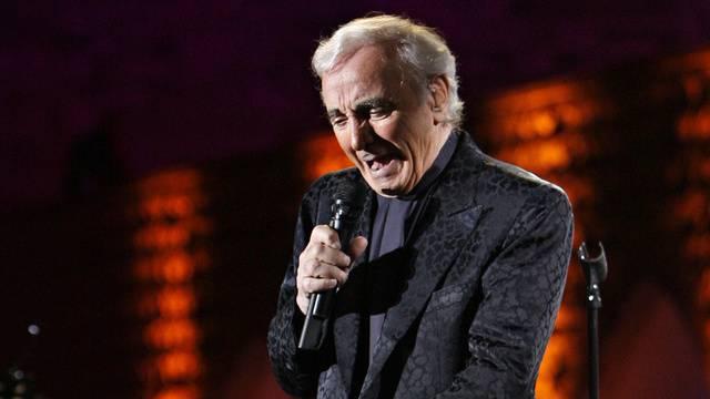 """Hat nie """"Adieu"""" gesagt: Der 87-jährige Chansonnier Charles Aznavour (Archiv)"""