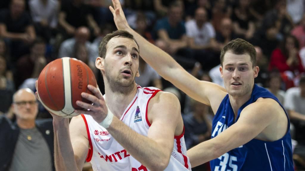 Schmerzhafte Niederlage der Schweizer Basketballer