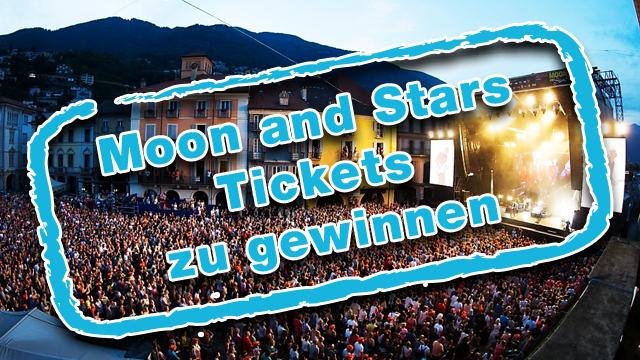 Gewinne Tickets für eines der diesjährigen Moon and Stars-Konzerte in Locarno.