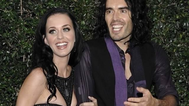 Glücklich verheiratet: Katy Perry und Russel Brand (Archiv)