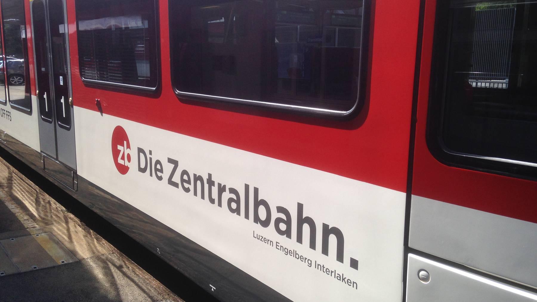 Bauarbeiten auf Zentralbahn-Strecke Hergiswil-Giswil