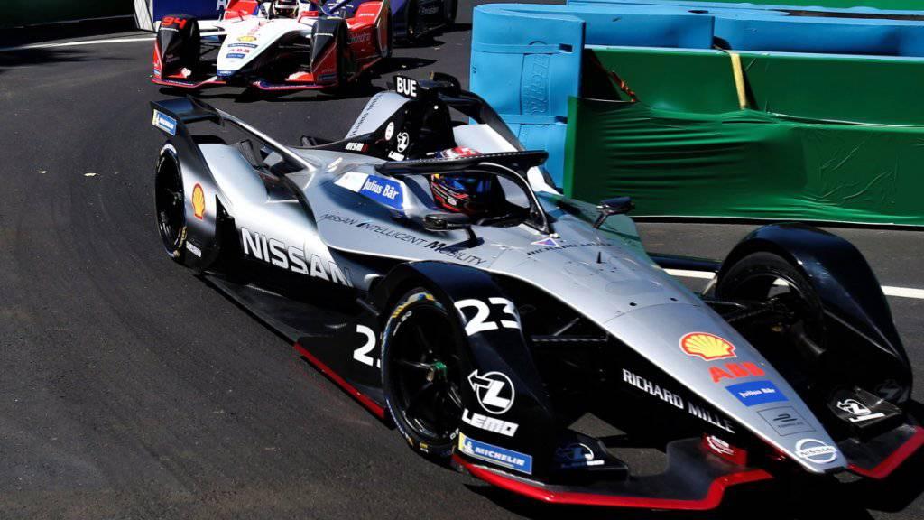 Platz 5 für den Schweizer: Sébastien Buemi fährt beim Formel-E-Rennen in Monte Carlo in die Punkteränge