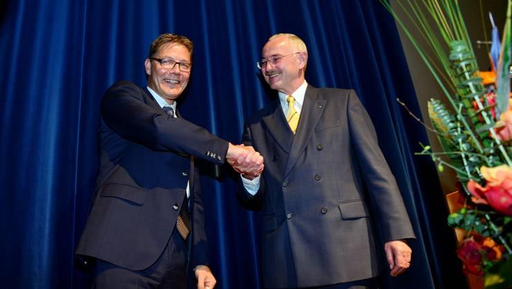 Roland Fürst tritt als Direktor der Handelskammer zurück.