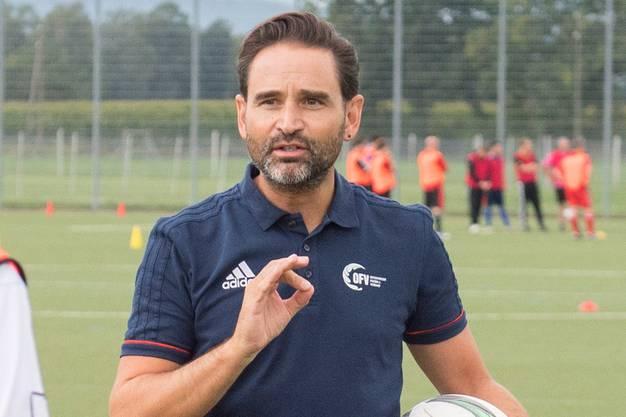 Roman Wild, früherer Assistenztrainer FC St.Gallen, heute Technischer Leiter beim Ostschweizer Fussballverband.