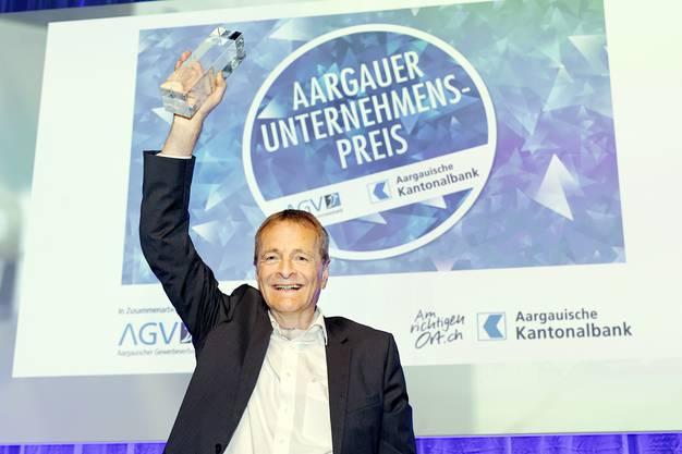 Kein Kommentar: Hans-Jörg Bertschi (SVP), Verwaltungsratspräsident Bertschi AG Dürrenäsch.