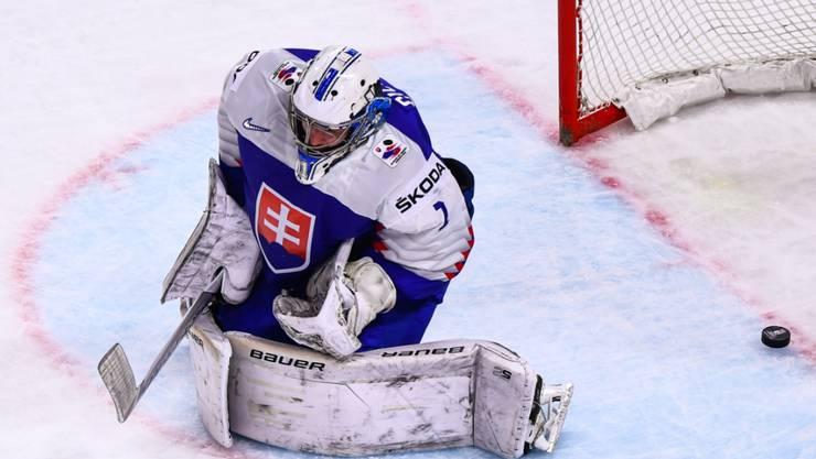 Die Slowaken leisteten gegen Schweden hartnäckigen Widerstand, verloren am Ende aber dennoch in der Verlängerung