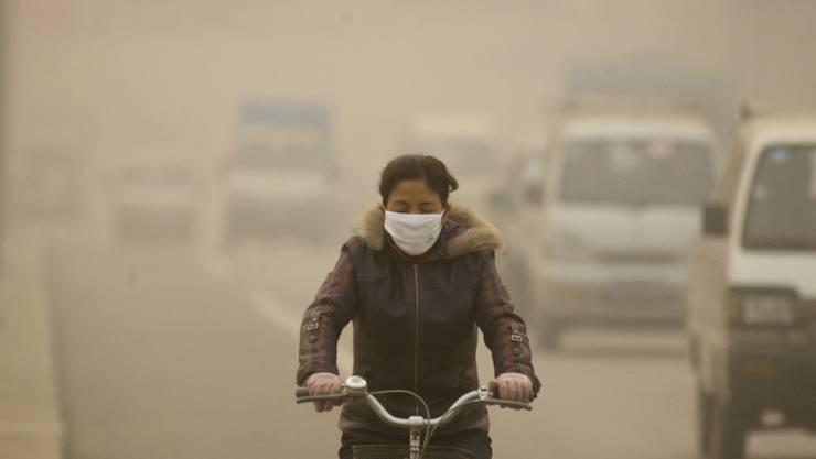 Ozon aus China macht Erfolge in den USA bei der Reduktion der Luftverschmutzung zunichte. (Archivbild)