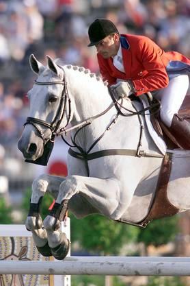 Melliger gewann auf Calvaro an Olympia 2000 in Sydney mit der Schweizer Equipe Silber.
