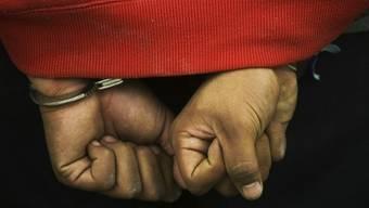 Die Polizei nahm sechs Männer fest. (Symbolbild)