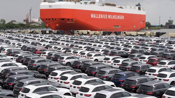 Chinas Aussenhandel ist drastisch eingebrochen. Symbolbild.