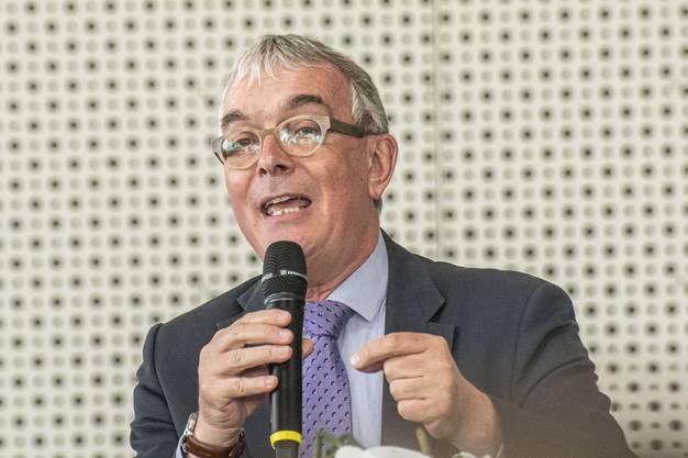 70 Jahre Staatsvertrag am Euroairport. Christoph Brutschin