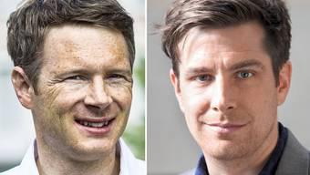 Jonas Fricker (l.) gibt das Präsidium ab. Daniel Hölzle (r.) soll sein Nachfolger werden.