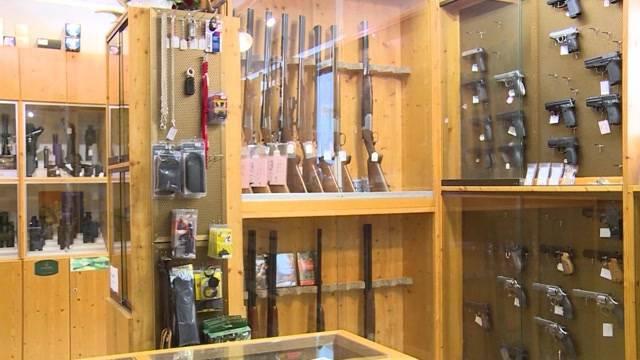 Mehr Waffen zu Hause