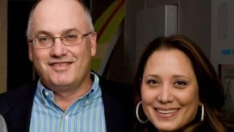 Steven Cohen mit Ehefrau Alexandra (Archivbild)