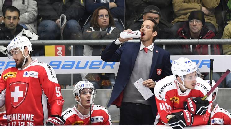 Fischer verliert mit der Schweiz am Deutschland-Cup alle Spiele.