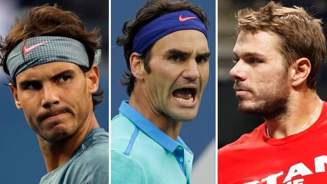 Nadal, Federer, Wawrinka: Top-Spieler an den Swiss Indoors