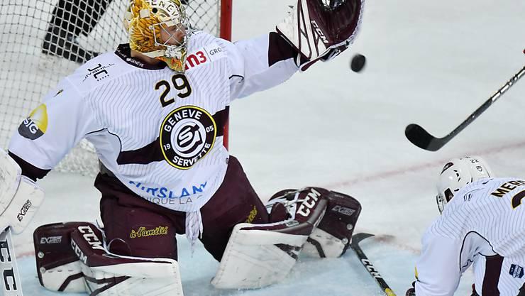 Goalie Robert Mayer wechselt auf die kommende Saison hin von Genève-Servette zum HC Davos