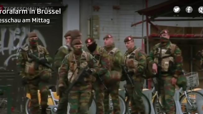 Höchste Terrorwarnstufe in Brüssel