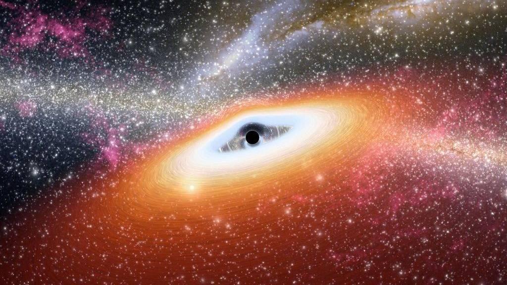 Astronomen entdecken erdnächstes Schwarzes Loch