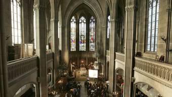 Die Offene Kirche Elisabethen engagiert sich für Flüchtlinge. (Symbolbild/Archiv)