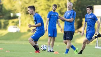 Der neue Trainer Samuel Drakopoulos erlebt mit dem FC Lenzburg bereits zu Beginn seiner Amtszeit eine schwierige Phase.