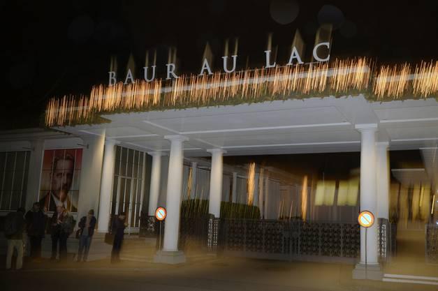 Das Hotel Baur au Lac bietet den Rahmen für zahlreiche Fifa-Verhaftungen.