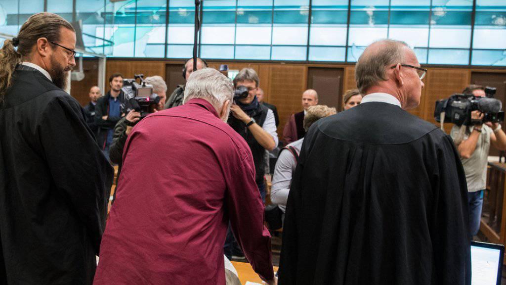 Die deutsche Bundesanwaltschaft fordert für den mutmasslichen Schweizer Spion eine Freiheitsstrafe von zwei Jahren auf Bewährung und eine Geldauflage von 40'000 Euro. (Archivbild)