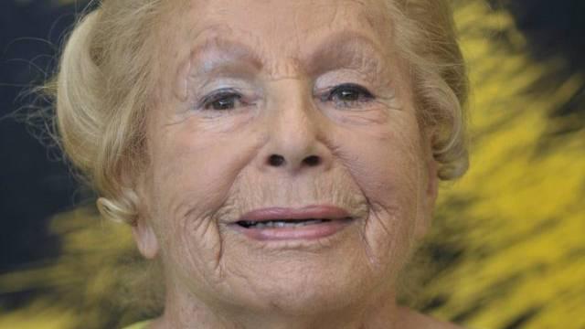 Die Holocaust-Überlebende Marga Spiegel im Jahr 2009 (Archiv)