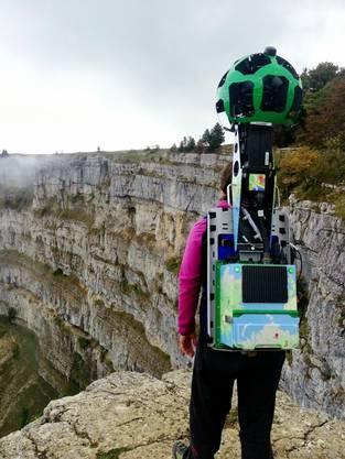 Die neuartige Rucksack-Kamera