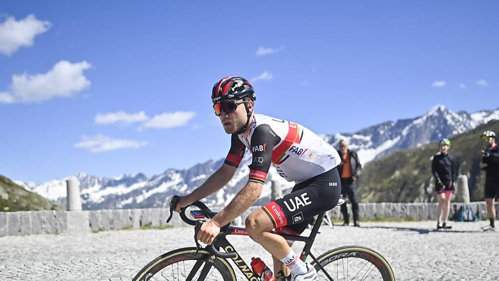 Das nächste Ziel von Marc Hirschi, hier an der Tour de Suisse im Juni, ist in zwei Wochen das WM-Strassenrennen in Flandern.