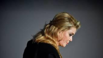 Die Lust auf Neues ist ungebrochen: Catherine Deneuve, Grande Dame des französischen Films. Bild: EPA