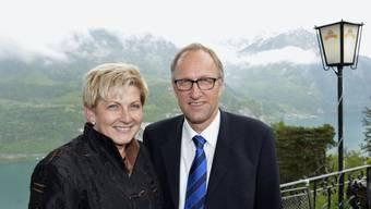 Neue Vorstandsmitglieder Peter Hegglin und Beatrice Simon