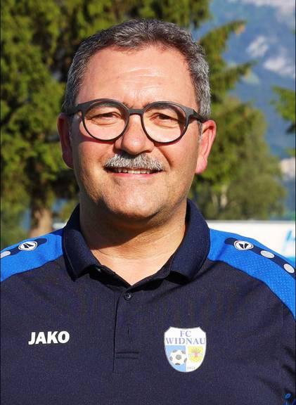 Kuno Jocham ist der Präsident des FC Widnau