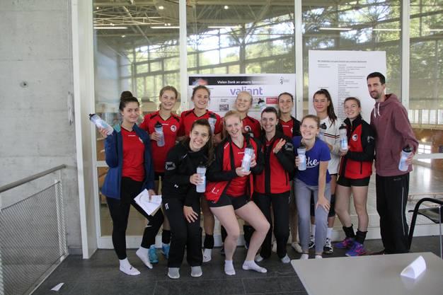 Stolze Turniersieger 2017: BTV Aarau 2