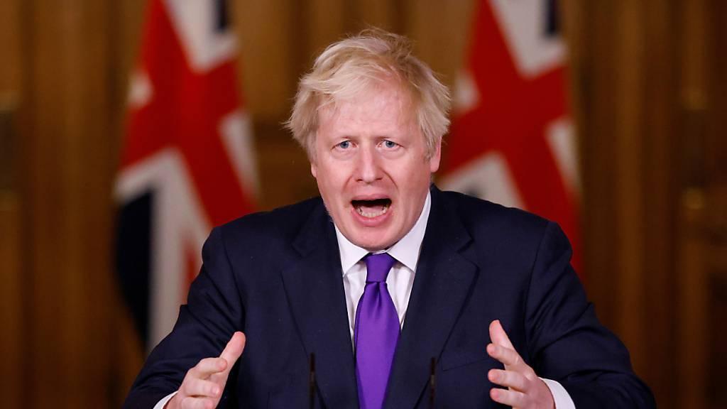 ARCHIV - Mit einem persönlichen Treffen wollen der britische Premierminister Boris Johnson und EU-Kommissionspräsidentin Ursula von der Leyen den Brexit-Handelspakt doch noch über die Ziellinie bringen. Foto: John Sibley/PA Wire/dpa