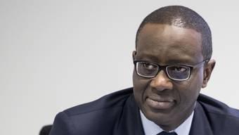 Sein Gehalt von 12,7 Millionen steht in der Kritik: CS-Chef Tidjane Thiam.