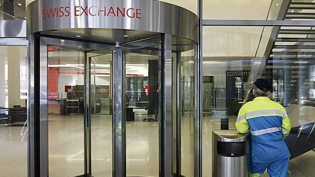 Finanztitel waren an der Schweizer Börse gefragt (Archiv)