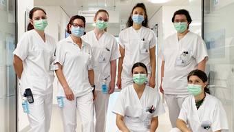 Leistung in Krisenzeiten: Die Leserschaft würdigte den unermüdlichen Einsatz das Pflegeteams 5 Ost.