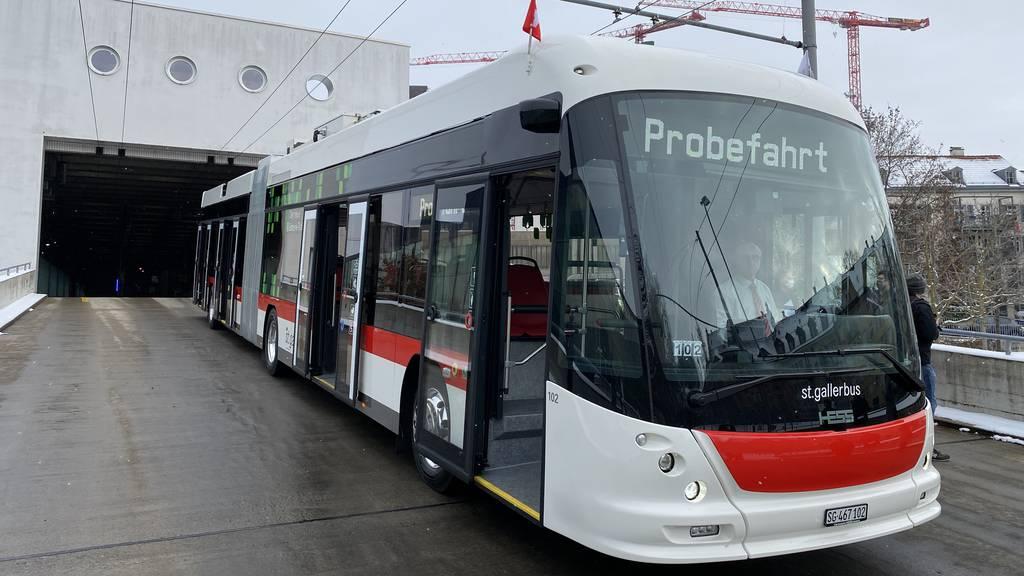 Modernes Kamerasystem statt Seitenspiegel – das bietet der neue E-Trolleybus