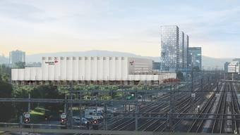 Läuft alles nach Plan, wird die Swiss Life Arena im Juni 2022 eröffnet.